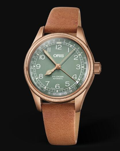Oris Aviation Big Crown Bronze Pointer Date 36MM Replica Watch 01 754 7749 3167-07 5 17 66BR